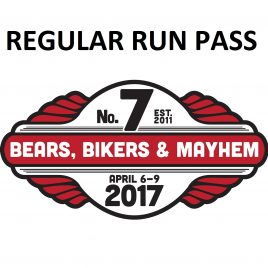 Regular 3-day Run Pass