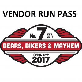 Vendor 3-day Run Pass