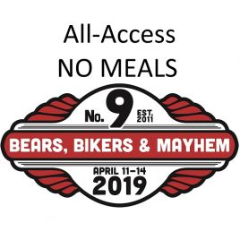 All Access Pass NO MEALS