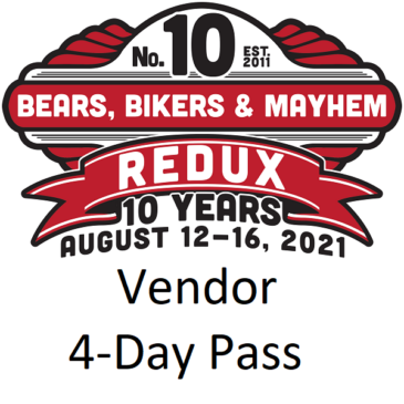 Vendor 4-Day Run Pass